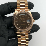 18KT ROSE GOLD DAY DATE