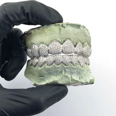 CUSTOM DIAMOND GRILL