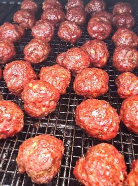 Smoked Meatballs