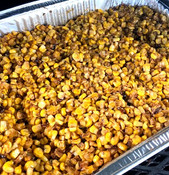 Smoked BBQ Corn Off the Cob