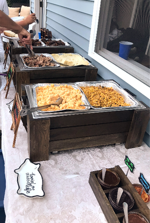 The BBQ was a big hit at a Sweet 16 party in Greenville, NY