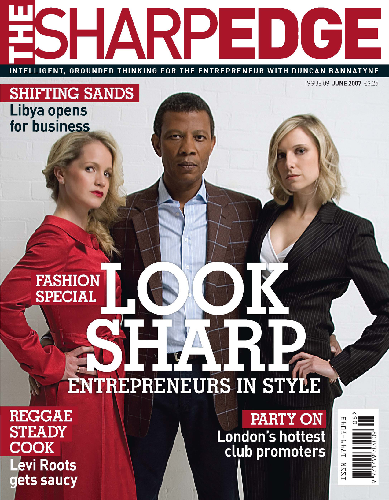 Sharp Edge June Cover