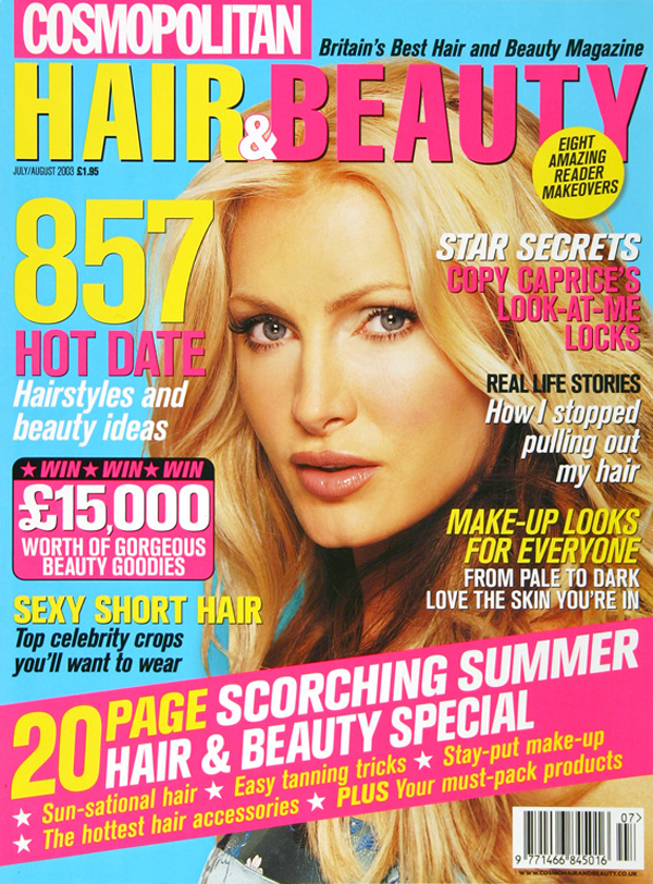 Cosmopolitan Hair&Beauty July cover