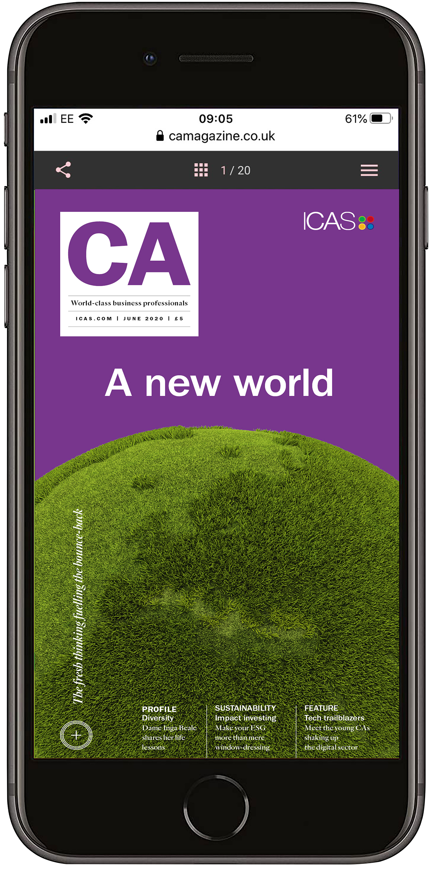 July 2020 mobile edition of ICAS MAgazine