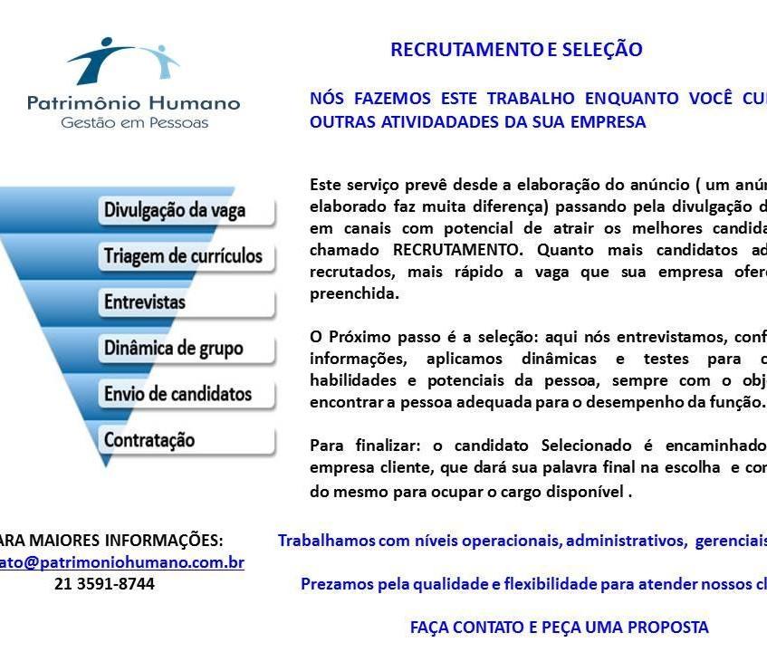 Recrutamento e Seleção - jeane.março.14