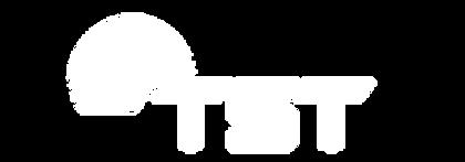 TST Logo White