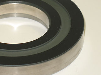 A thermal coated component
