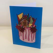 Cake Christmas Card