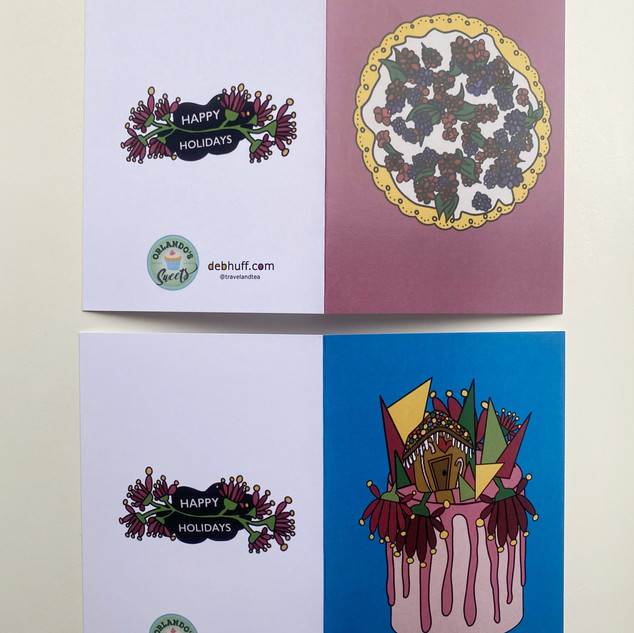 Christmas Card 4 x Pack