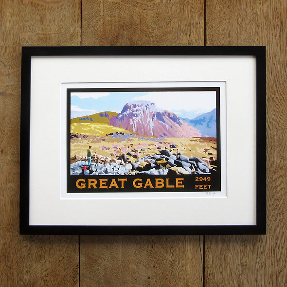 Great Gable Framed Print
