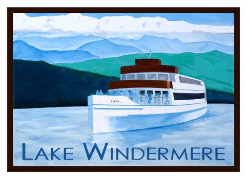WindermereGreeting Card