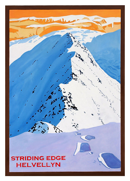 Striding Edge Unframed Print