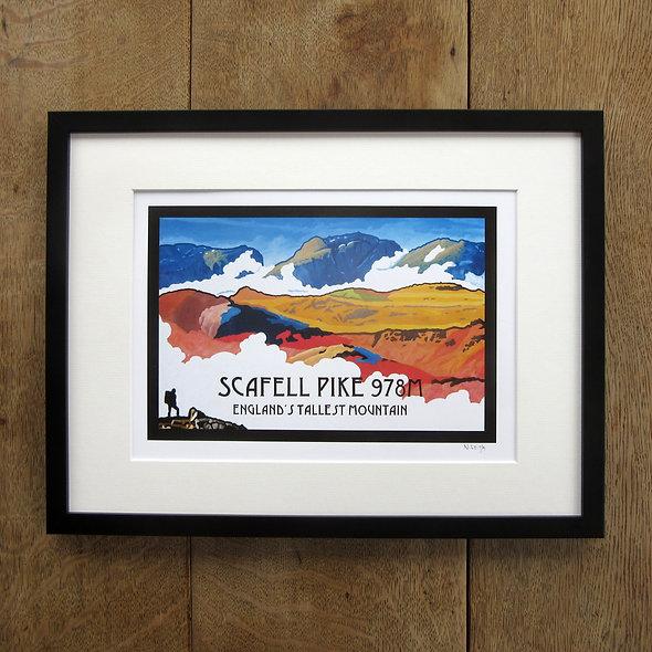 Scafell Pike Framed Print