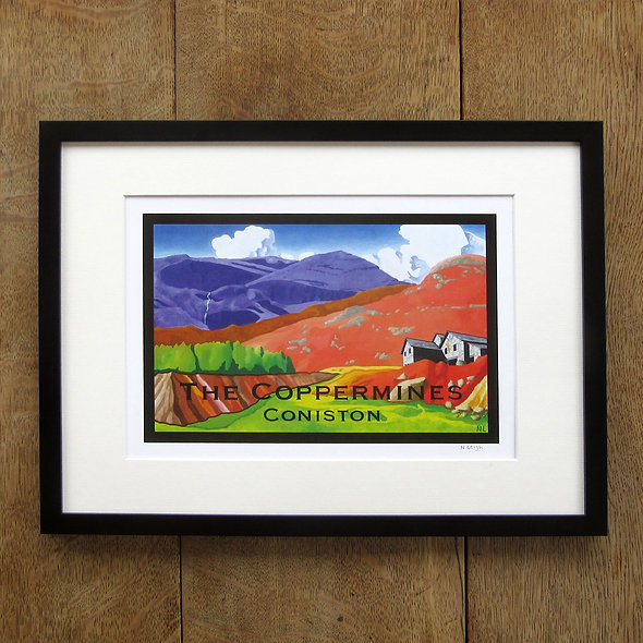 The Coppermines Framed Print