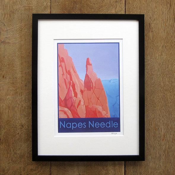 Napes Needle Framed Print