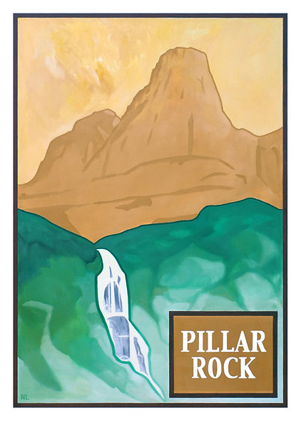Pillar Rock Greeting Card