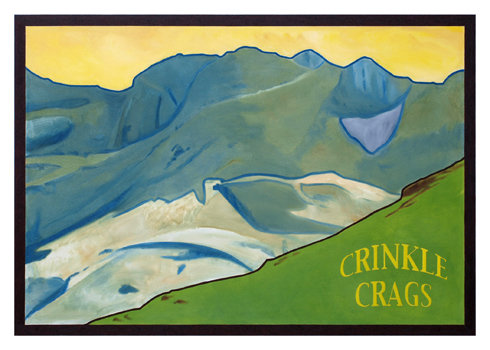 Crinkle Crags Greeting Card
