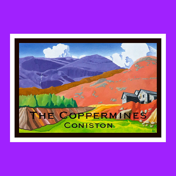 The Coppermines Placemat