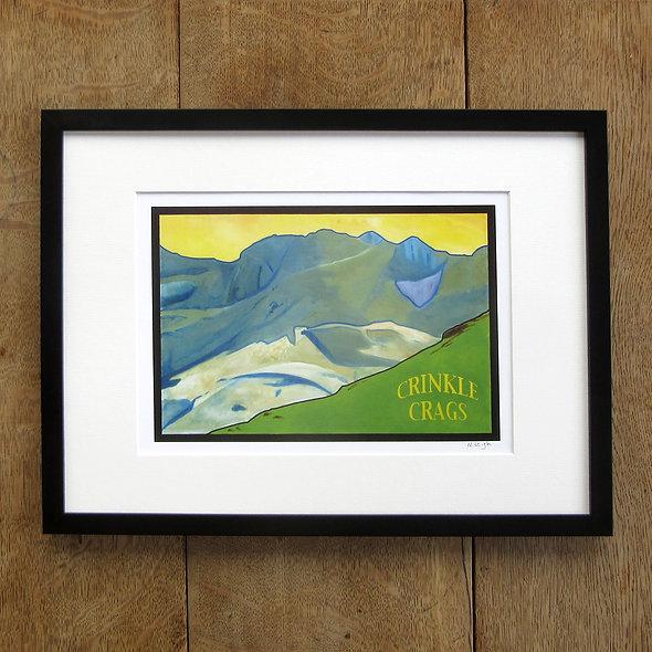 Crinkle Crags Framed Print