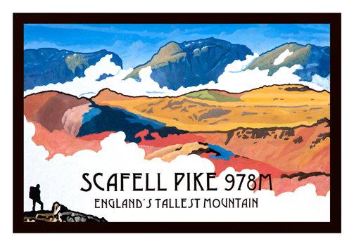 Scafell Pike Unframed Print