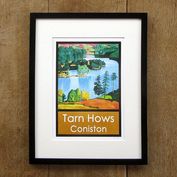 Tarn Hows Framed Print