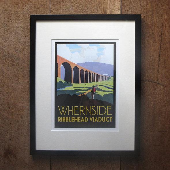 Whernside Framed Print