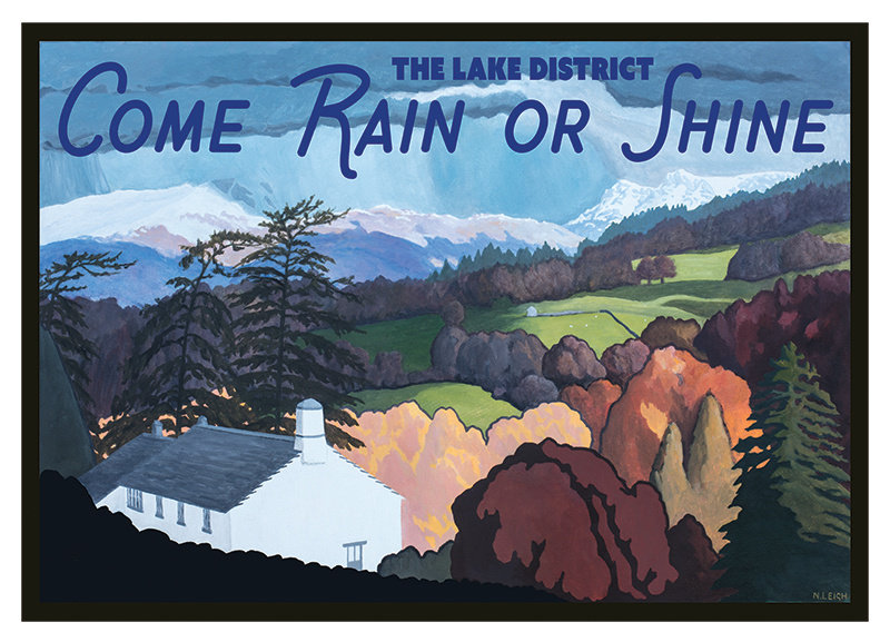Come Rain or Shine Unframed Print