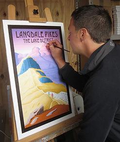Nicholas Leigh painting