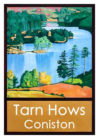 Tarn Hows Greeting Card