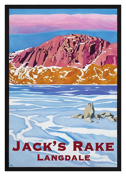Jack's Rake Unframed Print