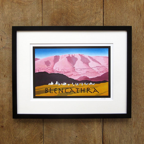 Blencathra Framed Print