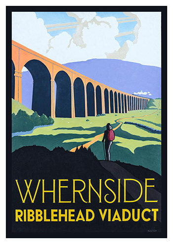 Whernside Unframed Print