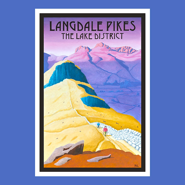 Langdale Pikes Placemat