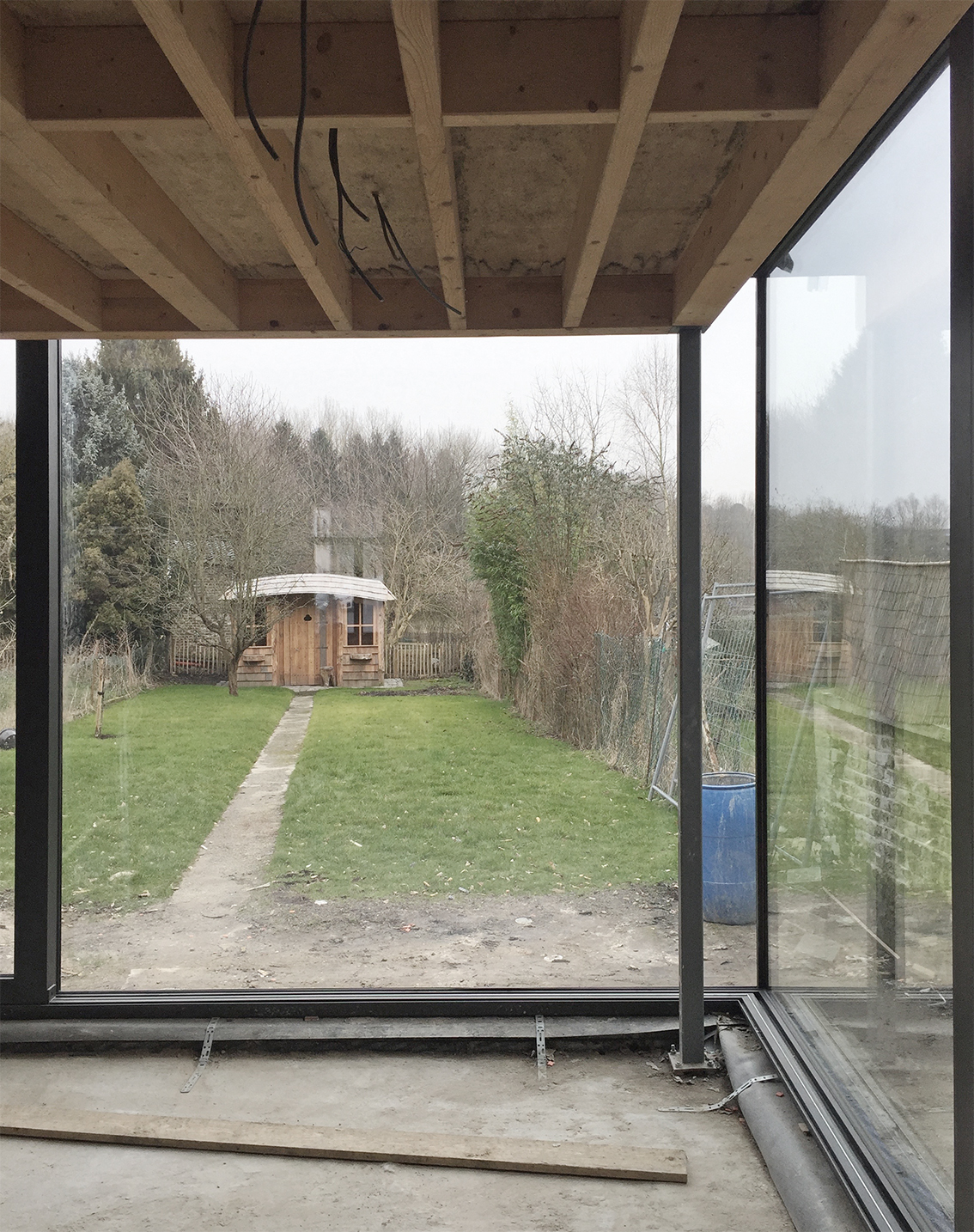 extension la hulpe architecte