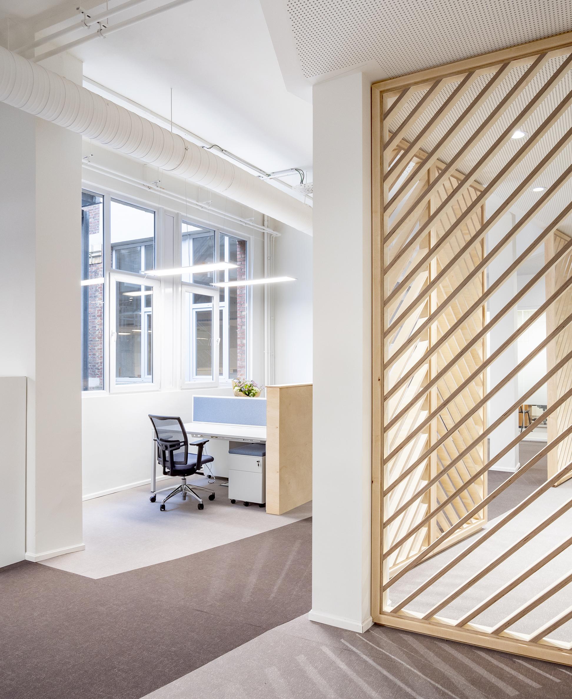 design bureaux bruxelles bardage