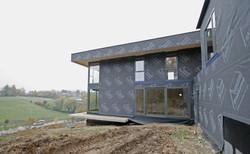 construction résidentiel bw