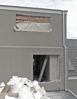 rénovation chantier Bruxelles
