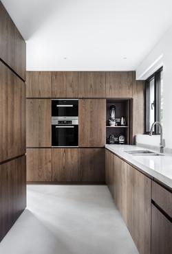cuisine noyer low-a architecture
