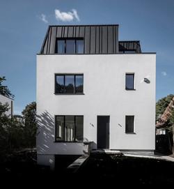 Rénovation maison Bruxelles zinc