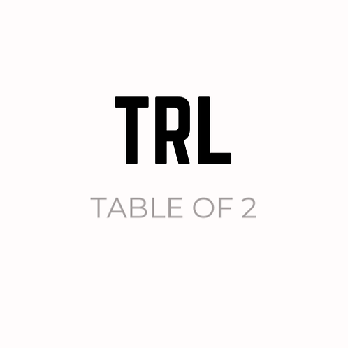 SUNDAY 27TH SEPTEMBER - TABLE OF 2