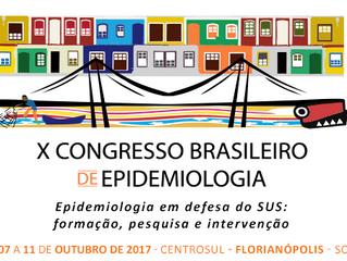 Pesquisa Aprovada no X Congresso Brasileiro de Epidemiologia
