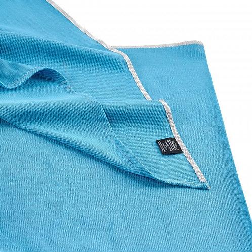 NEOBULLE - Echarpe tissée unie Bleu Denim