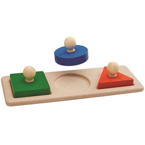 PLAN TOYS - Puzzle de formes
