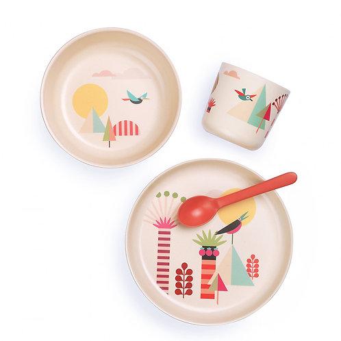 EKOBO - Coffret repas enfant Illustré