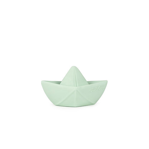 OLI & CAROL - Bateau Origami Menthe