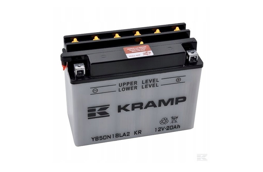Akumulator 12 V, 20 Ah, z elektrolitem