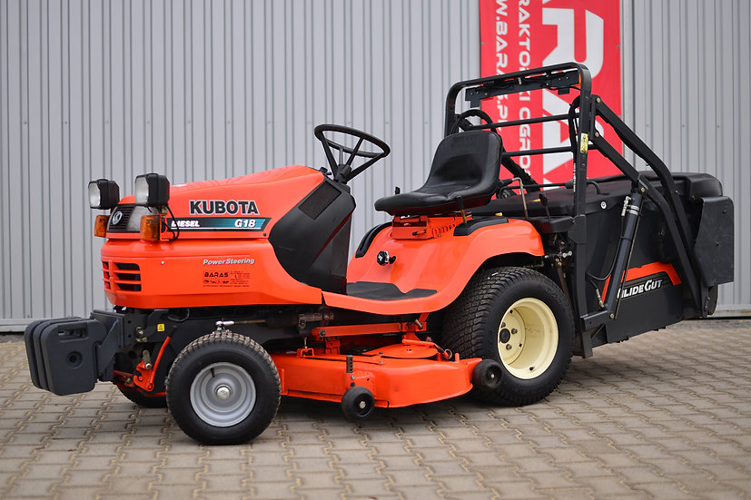 Traktorek Kubota G18 GÓRNY WYSYP (221207)