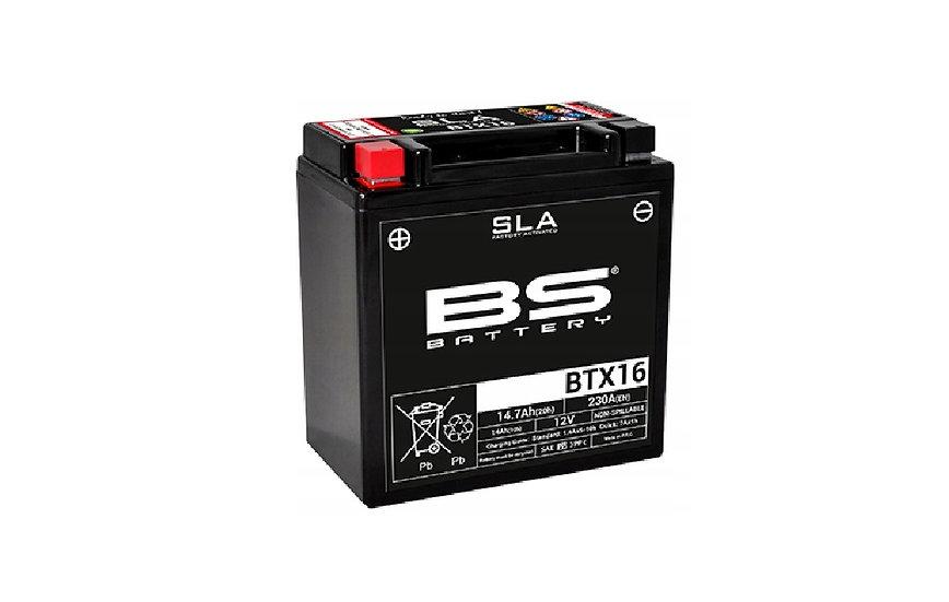 Akumulator 12 V, 14 Ah, SLA BS BTX16