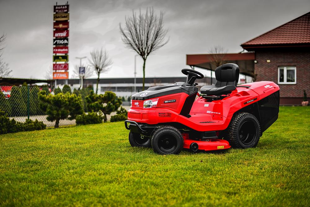 kosiarka samojezdna traktorek