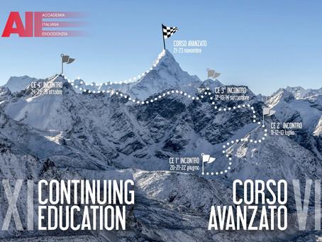 XI Continuing Education AIE - VI Corso Avanzato